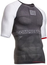 Termoprádlo Compressport ON-OFF shirt - grey/white