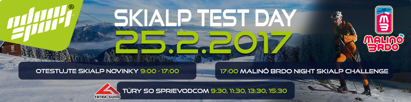 Skialp Test Day 2017 - AdamSport.eu