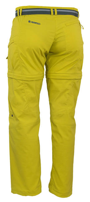 dc2206fe9 Nohavice Warmpeace Rivera zip-off lady - mustard | AdamSPORT.eu