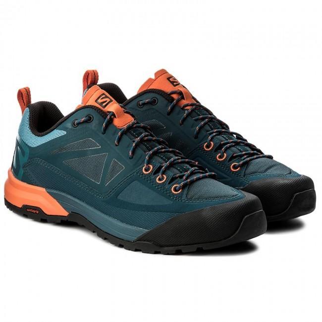 Turistická obuv Salomon X Alp Spry - Mallard Bi Reflecting Sc ... dfd13d88c5