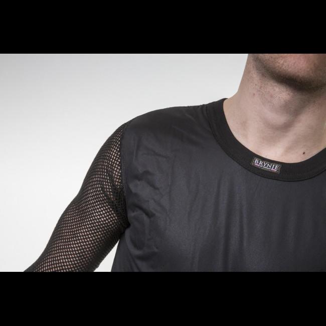 Termoprádlo Brynje Super Thermo Shirt windfront - black  028489dac7