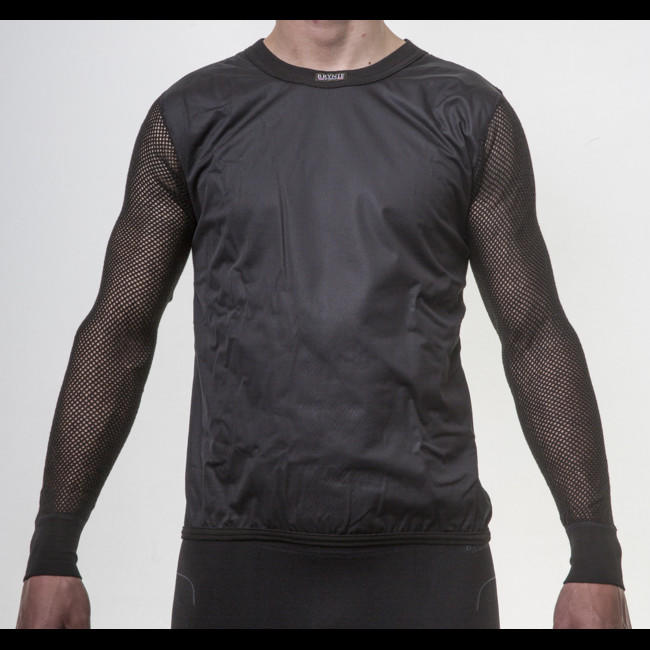 54fbef4bf5d Termoprádlo Brynje Super Thermo Shirt windfront - black