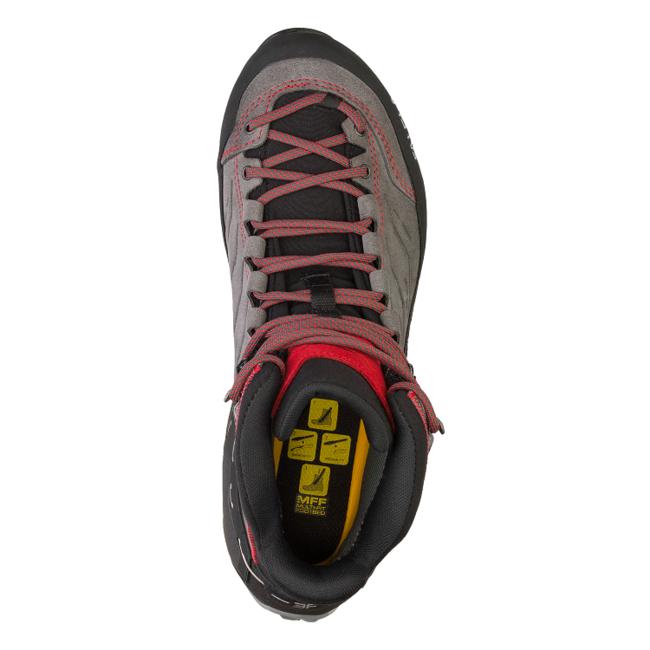 Turistická obuv Salewa MS MTN Trainer Mid GTX - black sulphur spring ... eb8fcf36e9