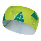 Čelenka Zajo Headband - acid lime trees