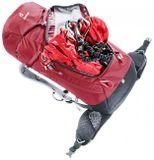Turistický batoh Deuter Trail 30 - cranberry/graphite
