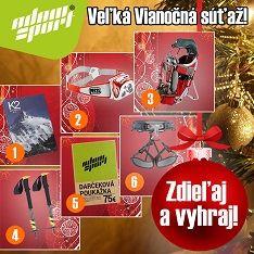 Veľká vianočná súťaž o veľmi hodnotné ceny!