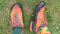 9cdf71120080 Nízke turistické topánky od La Sportivy som kúpil po predchádzajúcej  výbornej skúsenosti s podobným