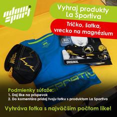 Súťaž o tričko, šatku a vrecko La Sportiva