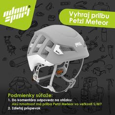 Súťaž o prilbu Petzl Meteor