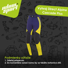 Súťaž vyhraj nohavice Direct Alpine Cascade Plus