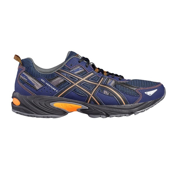Asics Gel - Venture 5 - indigo blue/hot orange/black