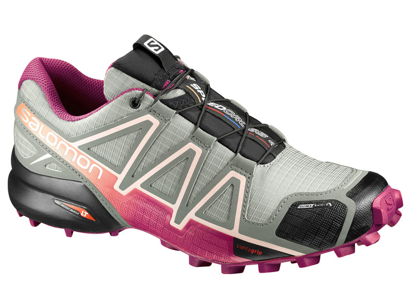 Bežecká obuv Salomon Speedcross 4 CS W - SHAD/Sangria/Peac
