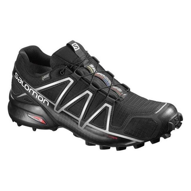 Bežecká obuv Salomon Speedcross 4 GTX - black/black/silver - 8 / 42
