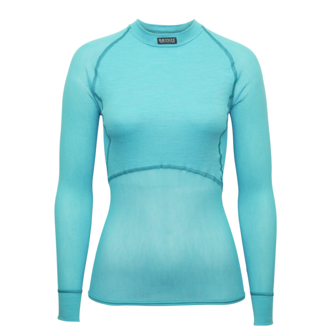 BRYNJE Lady Wool Thermo Light - Aqua