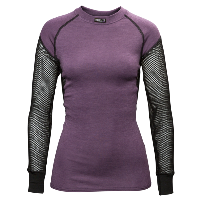 BRYNJE Lady Wool Thermo Shirt W/Inlay