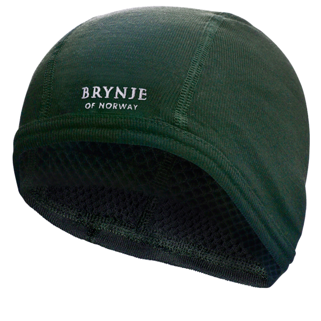 Čiapka Brynje Super Thermo helmet - green