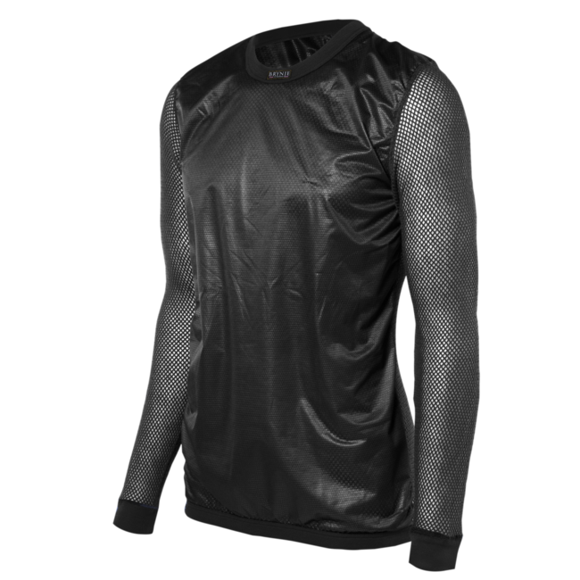 BRYNJE Super Thermo Shirt windfront - Black
