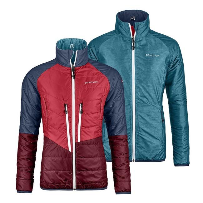 0eba07720 Bunda Ortovox W´s Piz Bial Jacket - aqua blend | AdamSPORT.eu