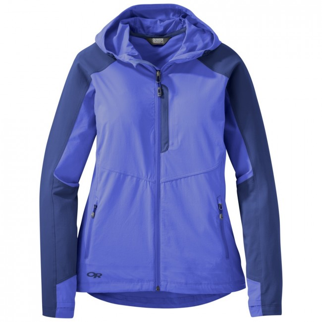Bunda Outdoor Research Ferrosi Hooded Softshell Jacket - baltic