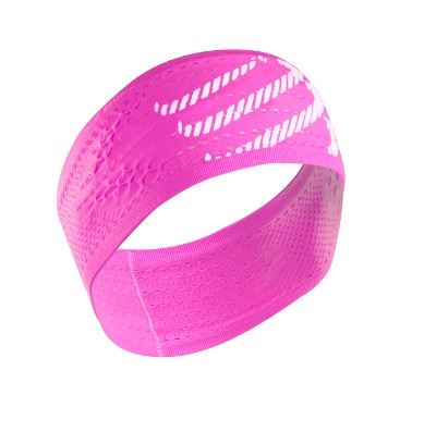 Čelenka Compressport ON/OFF - fluo pink