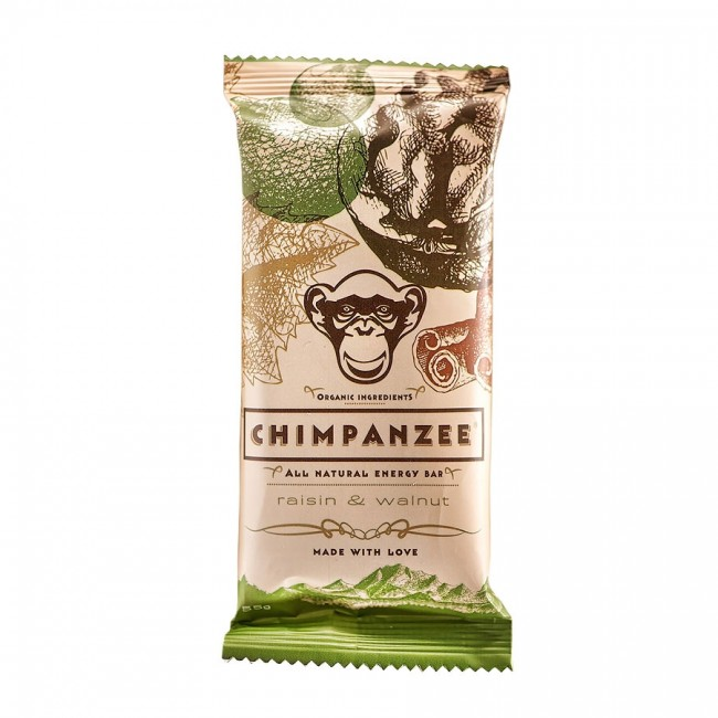 CHIMPANZEE ENERGY BAR Raisin - Wallnut