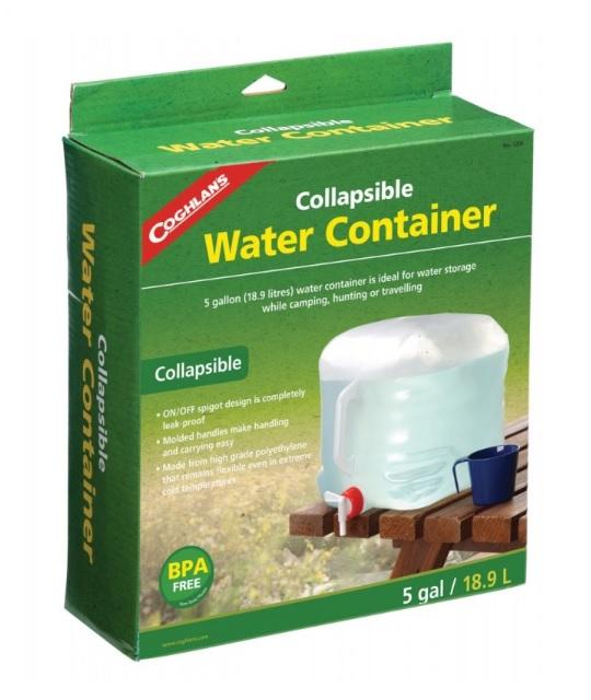 Coghlans Skladací kanister na vodu 18L