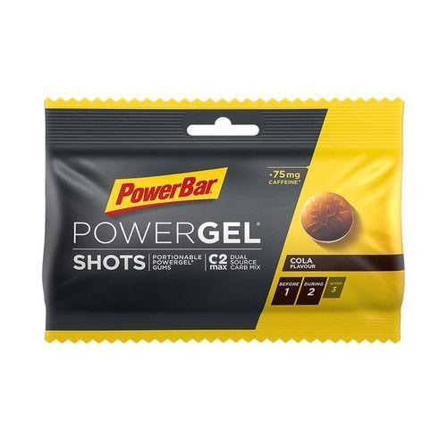 Cukríky PowerBar EnergizeSportShots 60g - cola + kofeín