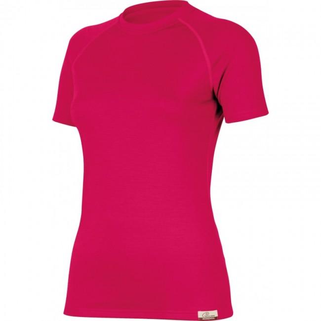 Termoprádlo Dámske tričko Lasting ALEA - Tm. ružová