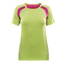Dámske tričko Devold Energy - Lime