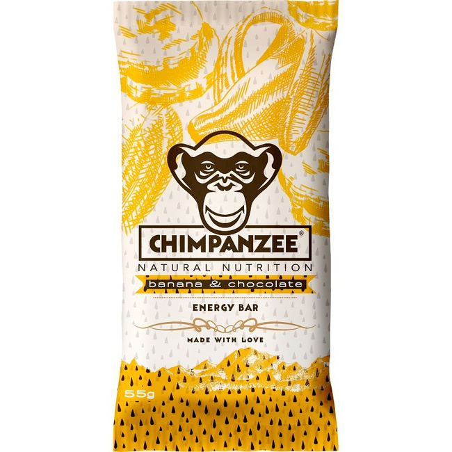 Energetická tyčinka Chimpanzee Energy Bar - banán a čokoláda