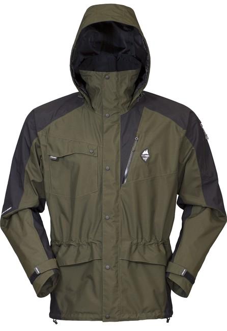 Nepremokavá bunda High Point Mania 5.0 Jacket - dark khaki/black - L