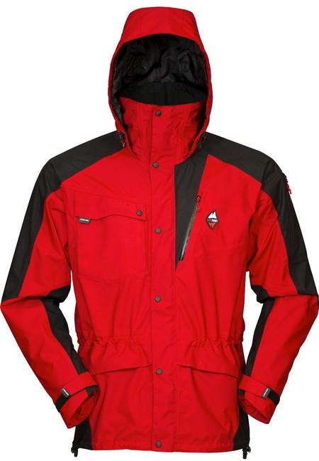 Nepremokavá bunda High Point Mania 5.0 Jacket - red/black - L