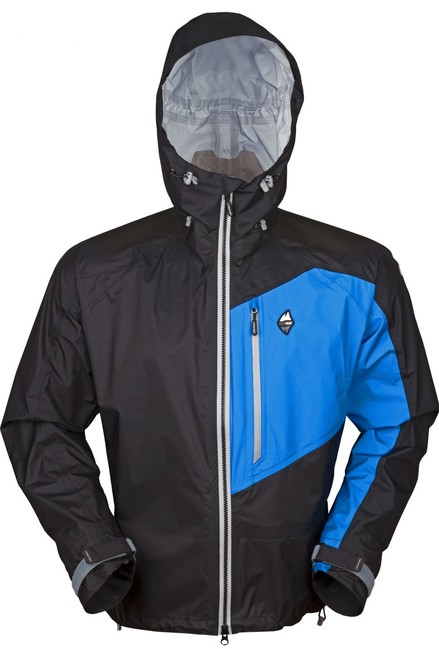Nepremokavá bunda High Point Master Jacket - black/blue - L