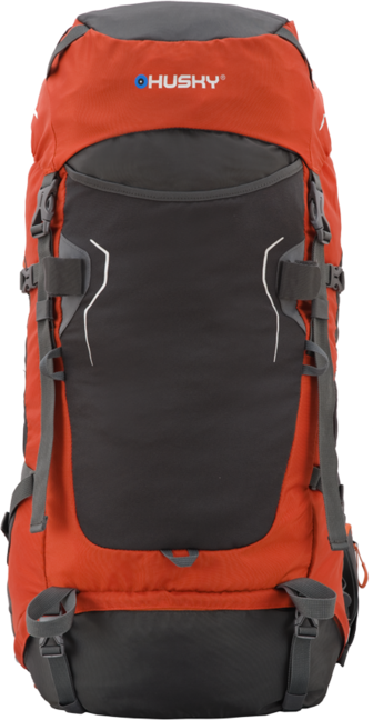 Husky Batoh Ultralight Rony 50l oranžová