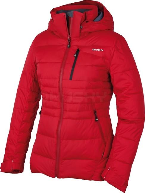 Husky Dámska plnená zimná bunda Norel L červená