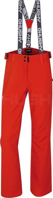 Husky Dámske lyžiarske nohavice Galti L červená