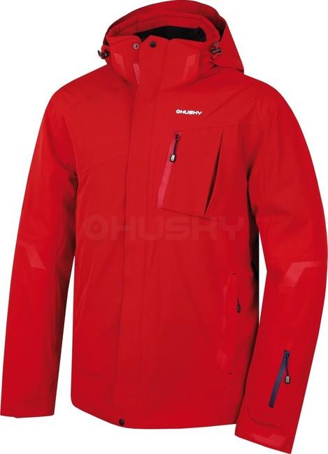 Husky Pánska lyžiarska bunda Gerbis M červená