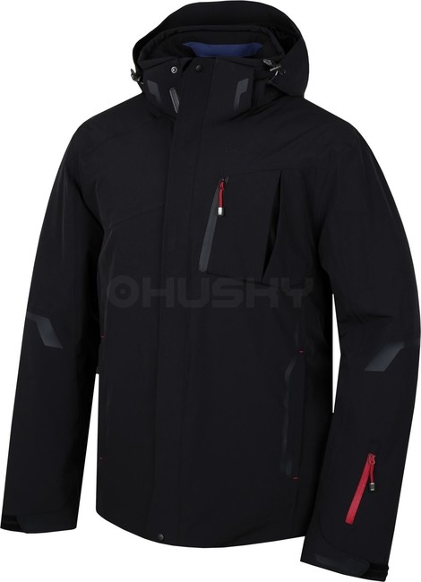 Husky Pánska lyžiarska bunda Gerbis M čierna