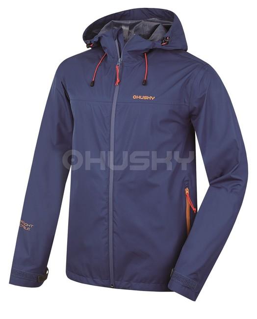 Membránová bunda Husky Lamy M New - modrá