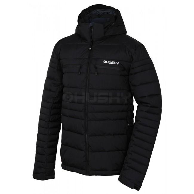 Husky Pánska plnená zimná bunda Norel M čierna