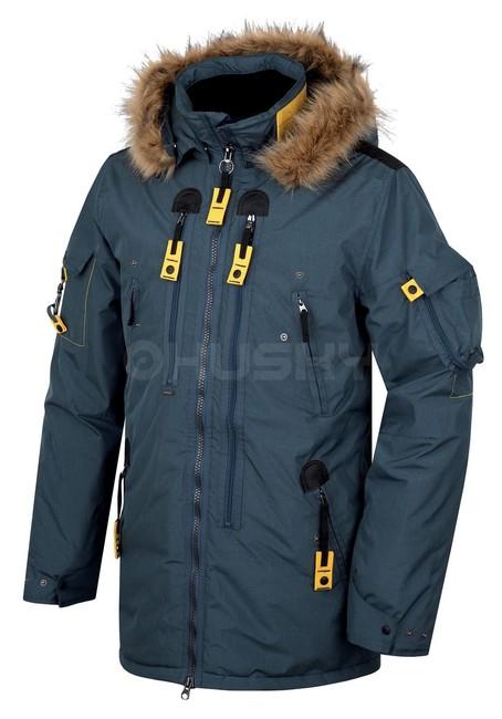 Zimná bunda Husky Nerida - tm.modrá afc5e7a9e4e