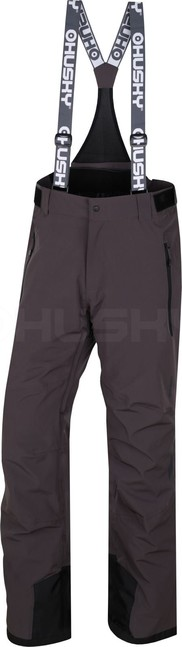 Husky Pánske lyžiarske nohavice Goilt M grafit - M