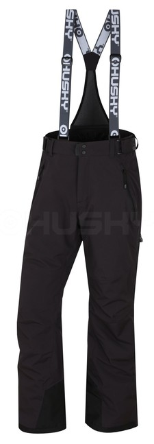 Husky Pánske lyžiarské nohavice Mithy M čierna - L