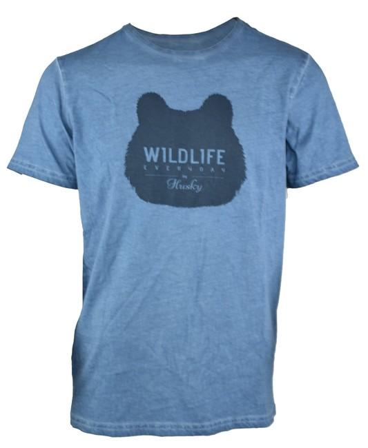 5df8bc8353e Husky Pánske tričko Tendy M modrá