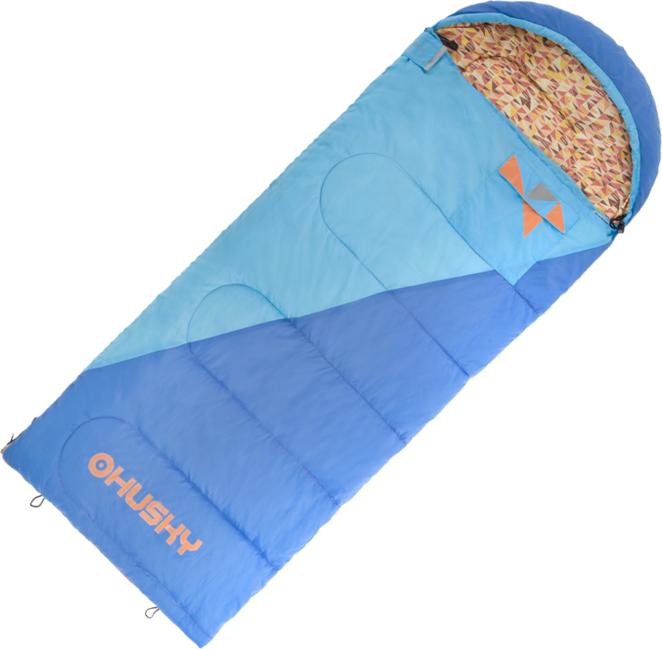 Spacák Husky Kids Milen -5°C - modrá