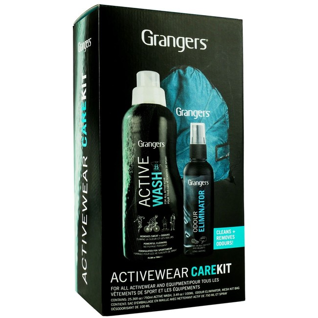 Impregnácia Granger´s Activewear Care Kit