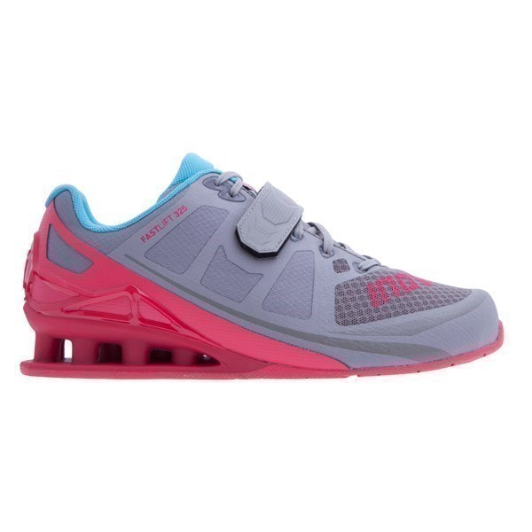 Dámska bežecká obuv Inov-8 Fastlift 325 (S) - pink/grey/blue