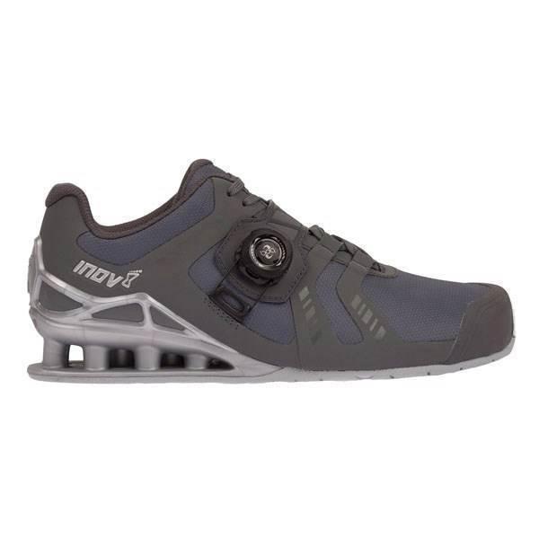 Dámska bežecká obuv Inov-8 Fastlift 400 BOA (S) - grey/silver