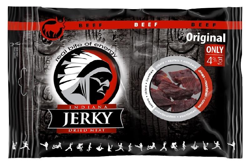 Jerky ORIGINAL 100g - hovädzie mäso