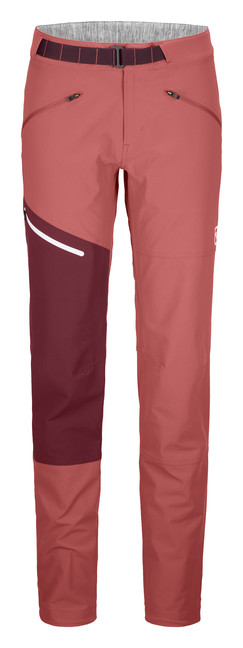 Nohavice Ortovox W's Brenta Pants - Blush - S